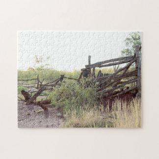 Australisches Hinterland-Vieh-Yardlaubsäge puzzel Puzzle