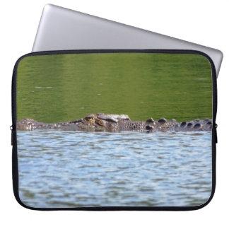 Australisches Salzwasser-Krokodil Laptop Sleeve