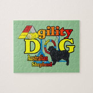 Australisches Schäfer-Agility Puzzle