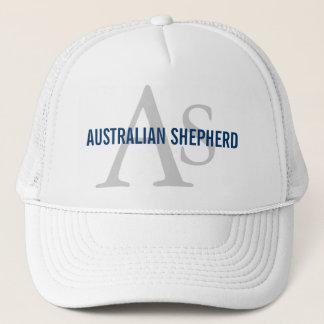 Australisches Schäfer-Monogramm Truckerkappe