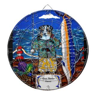 Australisches Schäfer-Speerfisch-Fischen Dartscheibe