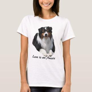 Australisches Schäfer-Wächter-Damen-Shirt T-Shirt