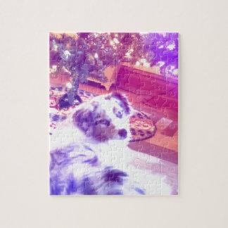 Australisches Schäfer-Weihnachten Puzzle
