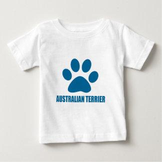 AUSTRALISCHES TERRIER-HUNDEentwürfe Baby T-shirt