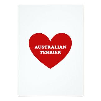 Australisches Terrier Karte