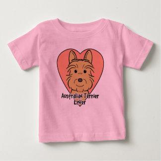 Australisches Terrier-Liebhaber Baby T-shirt
