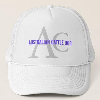 Australisches Vieh-Hundemonogramm Truckerkappe