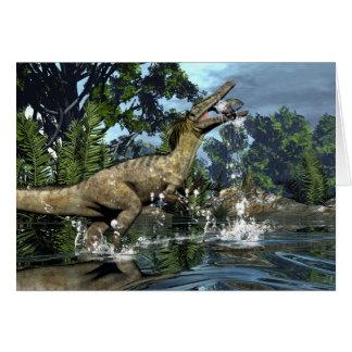 Austroraptor Dinosaurier Karte
