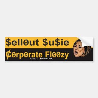 Ausverkauf Susie ist ein UnternehmensFloozy Autoaufkleber