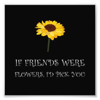Auswahl-Freund-Blumen White.png Fotografischer Druck