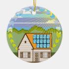 Auswechselbare Energie-SolarÖko leistungsfähig Keramik Ornament