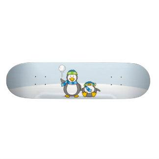 Ausweitende Pinguine 19,7 Cm Skateboard Deck