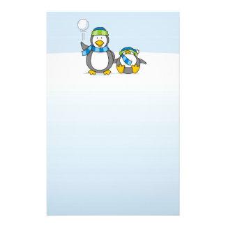 Ausweitende Pinguine Flyer