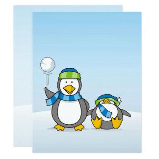 Ausweitende Pinguine Karte