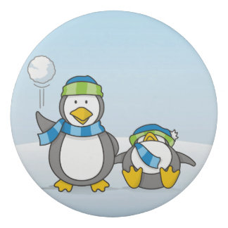 Ausweitende Pinguine Radiergummi