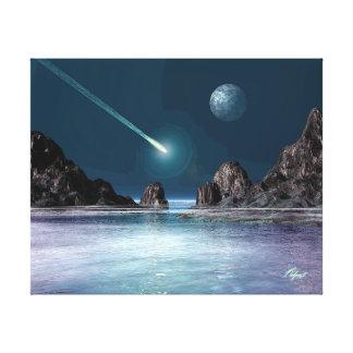 AUSWIRKUNG Sciencefiction-Retro Raum-Kunst-Plakat Leinwand Drucke