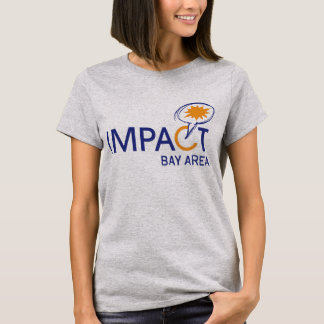 Auswirkungs-einfaches T-Stück T-Shirt