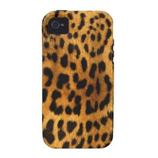 Authentische Leopard-Pelz-Beschaffenheit iPhone 4/4S Hüllen