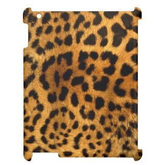 Authentische Leopard-Pelz-Beschaffenheit iPad Hülle