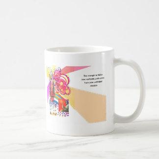 Authentische Reise Kaffeetasse
