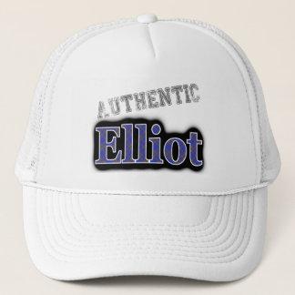 Authentischer Clan-Eliot schottischer Tartan-Name Truckerkappe