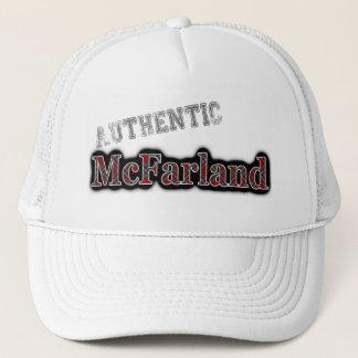 Authentischer Clan McFarland MacFarlane Tartan Truckerkappe