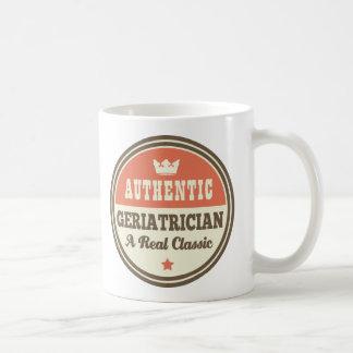Authentischer Geriatrician-Vintage Geschenk-Idee Kaffeetasse