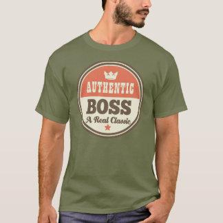 Authentisches Chef-(lustiges) Geschenk T-Shirt