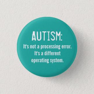 Autismus-Annahme-Knopf: Betriebssystem Runder Button 3,2 Cm