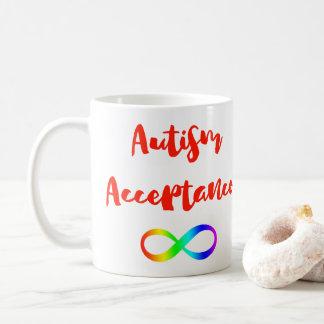 Autismus-Annahme-Unendlichkeits-Symbol Kaffeetasse