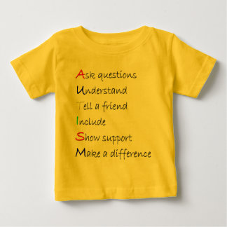 Autismus Baby T-shirt