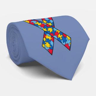 Autismus-Bandgewohnheits-Krawatte Krawatte
