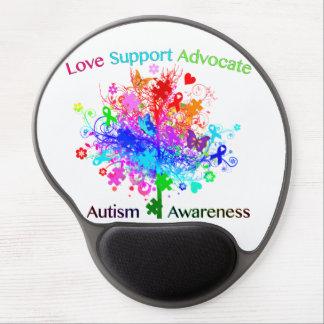 Autismus-Baum im Spektrum Gel Mousepad