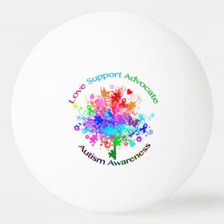 Autismus-Baum im Spektrum Tischtennis Ball