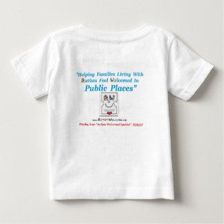 Autismus begrüßt geschaffen für baby t-shirt