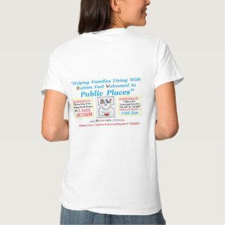 Autismus begrüßt geschaffen für Erwachsene mit Tshirt