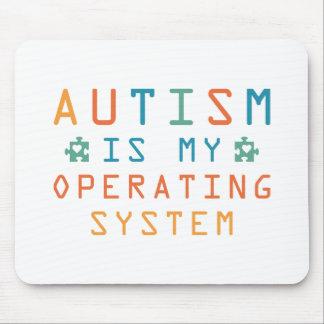 Autismus Betriebssystem Mousepad