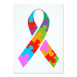 Autismus-Bewusstsein 12,7 X 17,8 Cm Einladungskarte