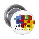 Autismus-Bewusstsein Anstecknadelbuttons