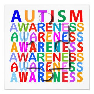 Autismus-Bewusstsein Individuelle Ankündigung