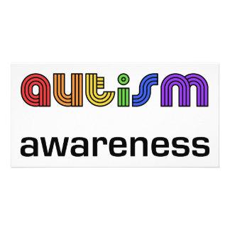 Autismus-Bewusstsein! Fotokarten