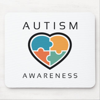 Autismus-Bewusstsein Mousepad