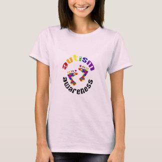 Autismus-Bewusstseins-Abdrücke T-Shirt
