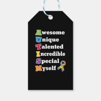 Autismus-Bewusstseins-Akronym Geschenkanhänger