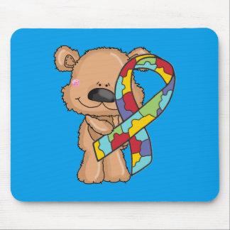 Autismus-Bewusstseins-Bär Mousepad