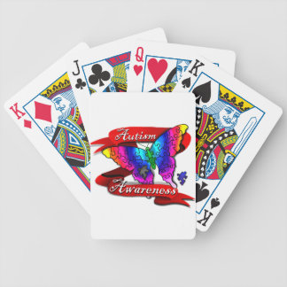 Autismus-Bewusstseins-Fahne Bicycle Spielkarten