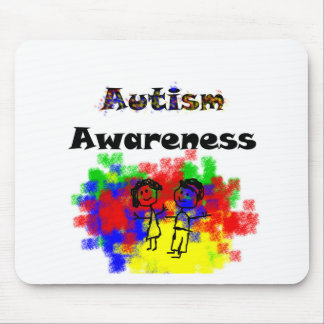Autismus-Bewusstseins-Freunde Mousepad