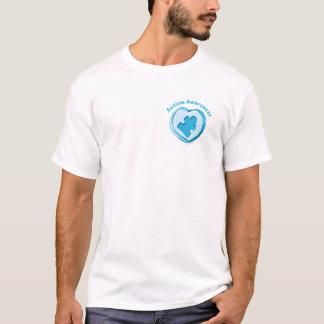 Autismus-Bewusstseins-Herz T-Shirt