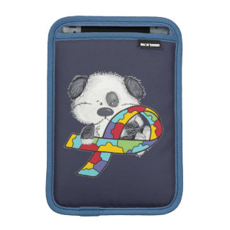Autismus-Bewusstseins-Hund iPad Mini Sleeve