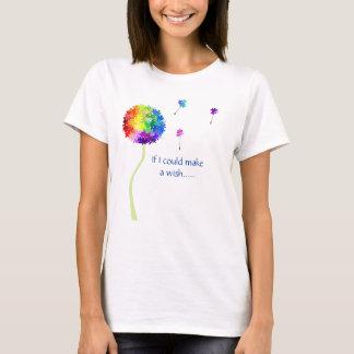 Autismus-Bewusstseins-Löwenzahn wünscht T - Shirt